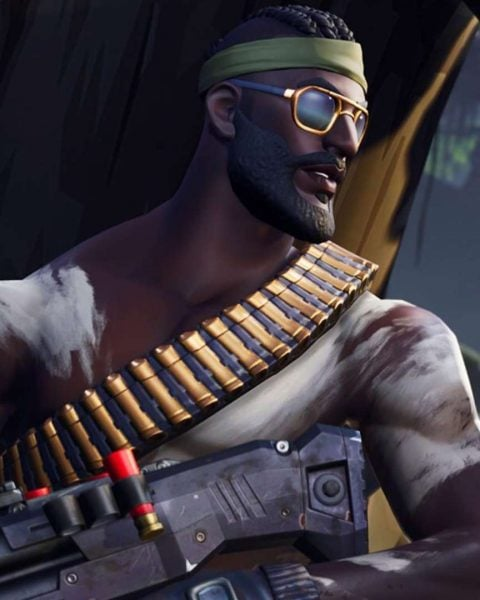 Bandolier Fortnite skin wallpaper