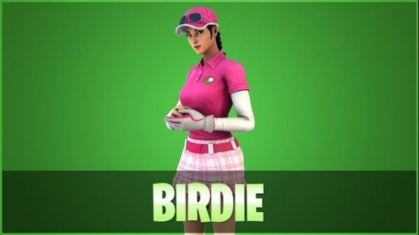 Birdie Fortnite skin wallpaper