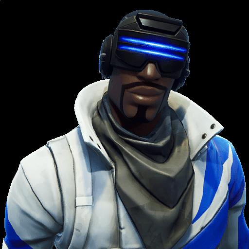 Blue Striker fortnite skin