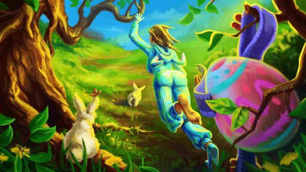 Bunny Brawler wallpaper