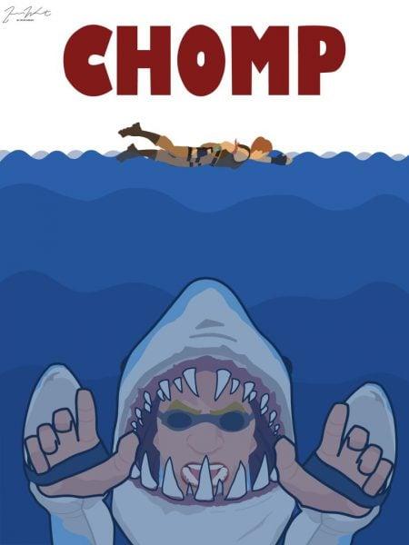 Chomp Sr fortnite wallpaper
