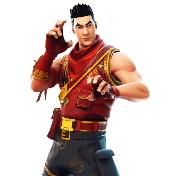 Fortnite Crimson Scout skin png