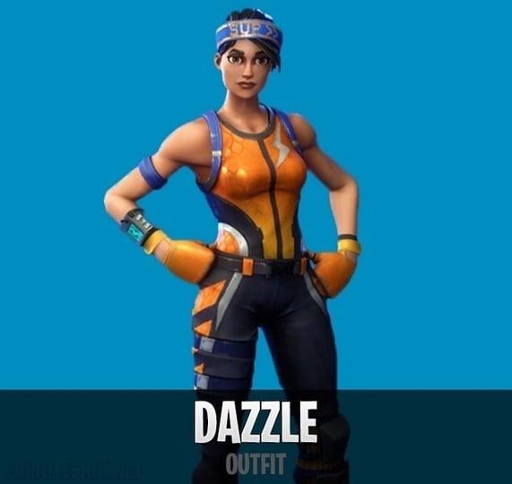 Dazzle fortnite wallpaper