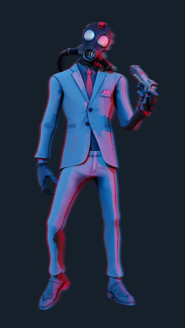 Chaos Agent Fortnite Skin (Outfit)